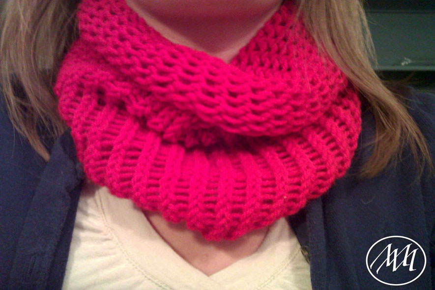 Infinity Scarf With Knitting Loom Michaeli Marler Craft Tutorials