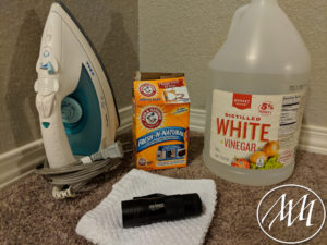 Materials Needed for Carpet Cleaning Trick