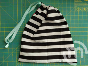 Finished Project Bag for Knitting